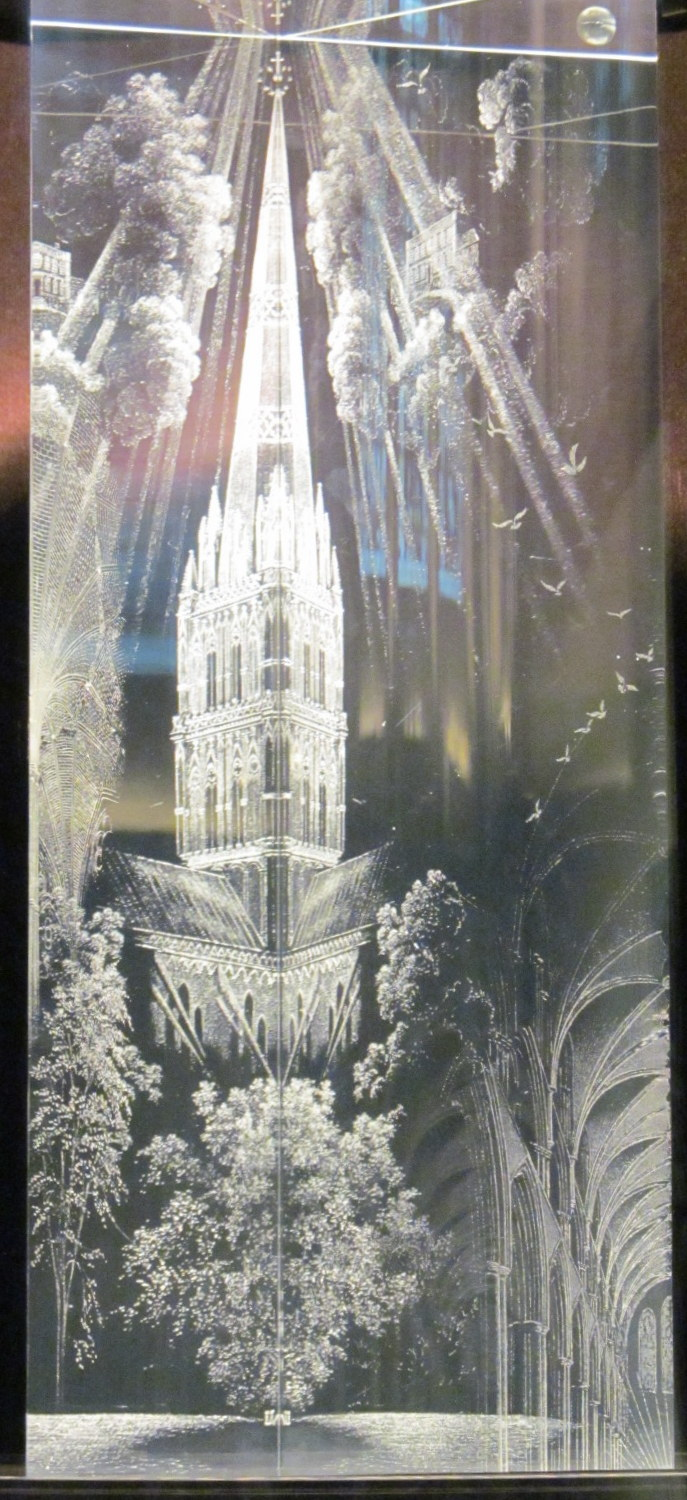 Whistler's Prism at Salisbury Cathedral