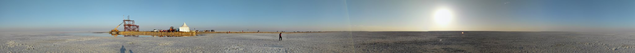 The vast Rann of Kutch (Dhordo, Gujarat)