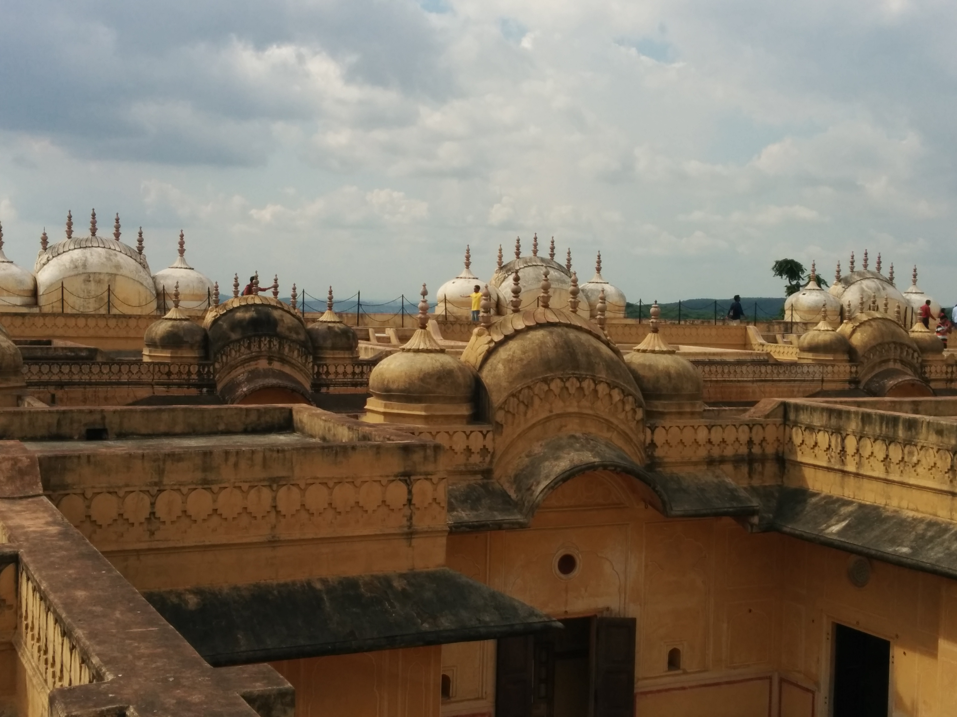 Nahargarh Fort, Jaipur Average in its commercial setting, but the onion domes from its Mughal alliance heyday are still standing stong