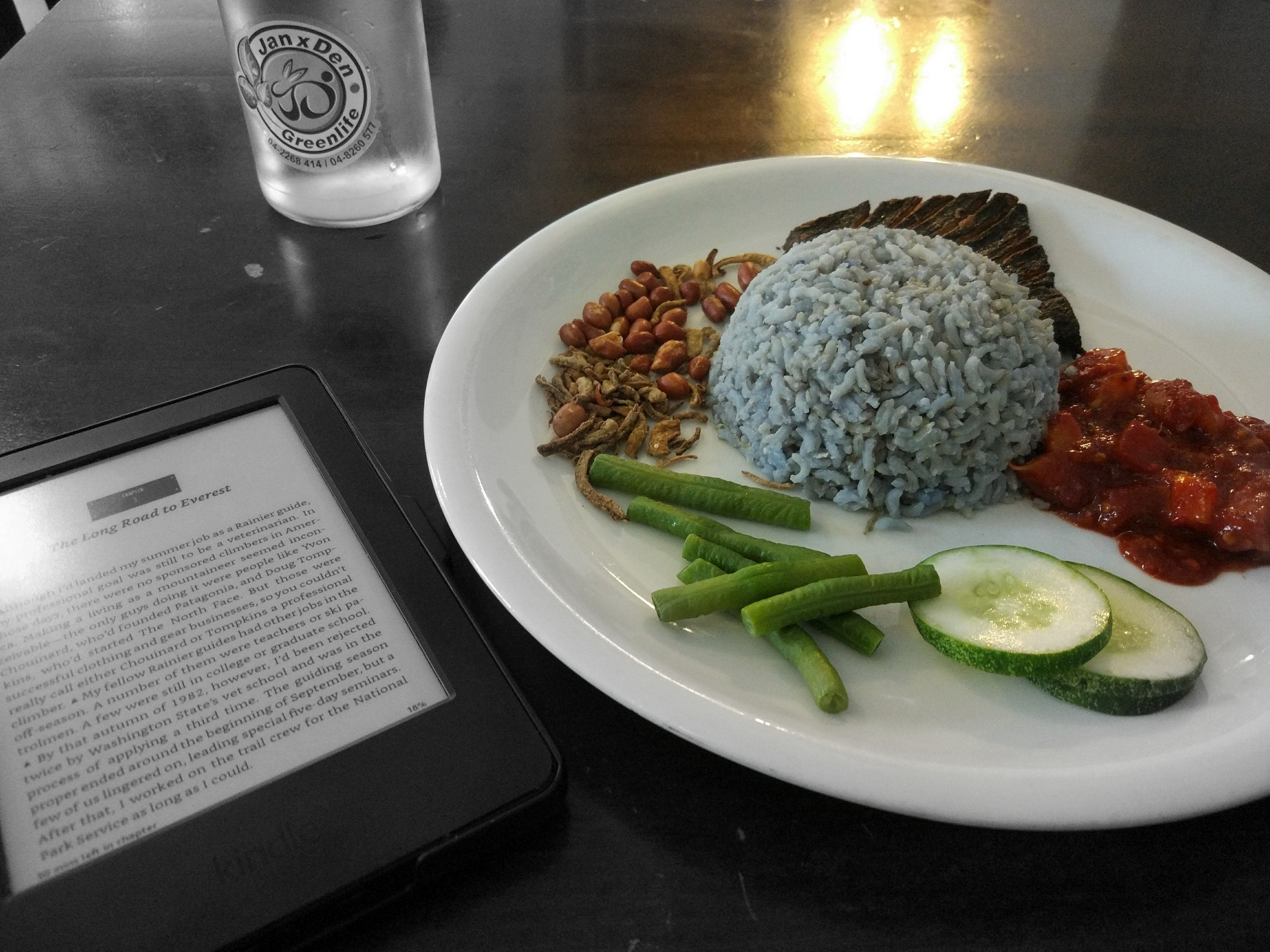 Nasi Lemak. Penang is head over heels in love with its food. Strangely, I was not. Well, at least I tried!